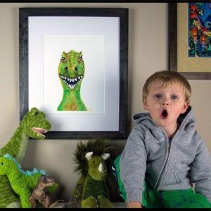 Dino - trex art